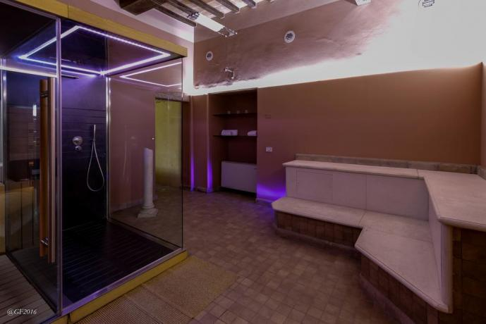 Benessere con Biosauna e Sauna romana