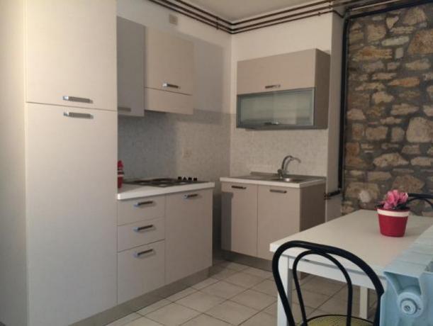 angolo cottura attrezzato appartamento perugia Quasar Village