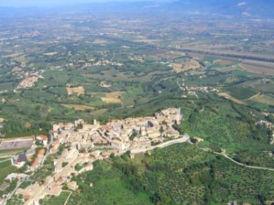 Aerial view detail