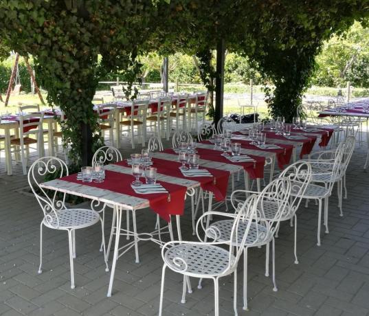 agriturismo umbro con ristorante