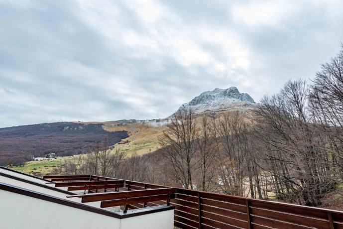 Appartamento vacanza con Balcone Vista Gran Sasso