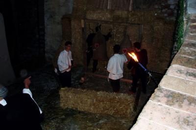 Scene di Vita Medievale, ottobre Trevano