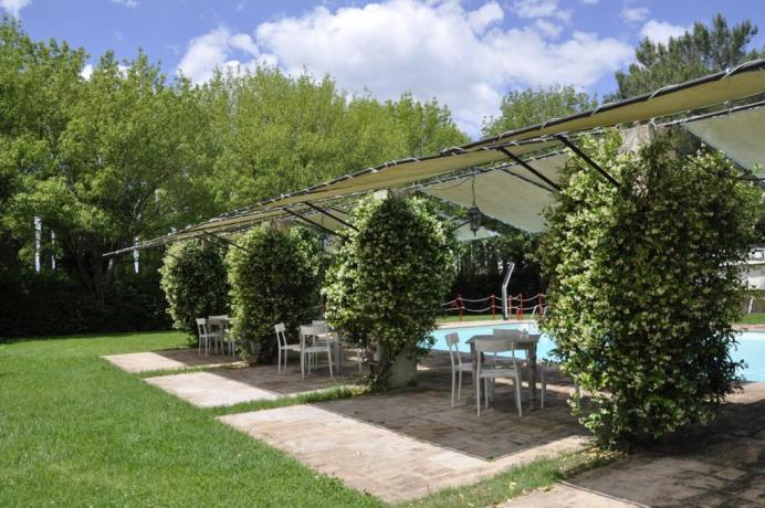 Agriturismo vicino Assisi con Giardino attrezzato e piscina