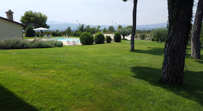 B&B vista panoramica sulle colline umbre