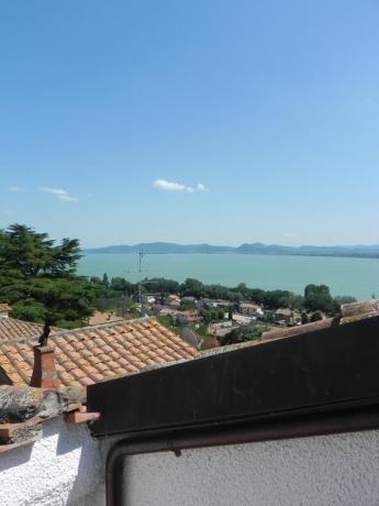 Vista panoramica del Lago Trasimeno