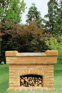 Barbecue prefabbricati stufe a pellets caminetti da interno ed esterno perugia perugia - Caminetti da interno ...