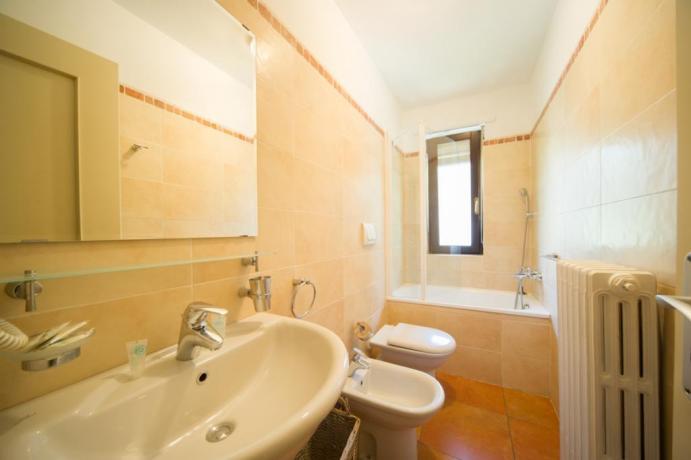 Appartamenti-monolocali 4persone con bagno privato e doccia Bardonecchia