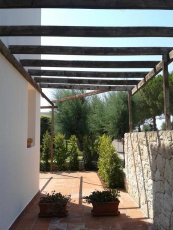 Appartamenti con piccolo portico a Gallipoli