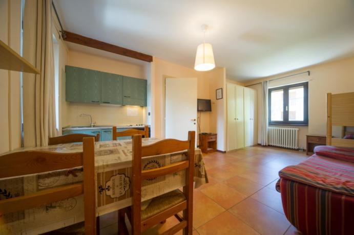 Appartamento-vacanze bilocale-con-castello tipo B Bardonecchia