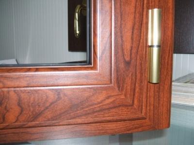 Infissi in alluminio effetto legno infissi e serramenti in alluminio calandri f montefalco - Finestre pvc perugia ...