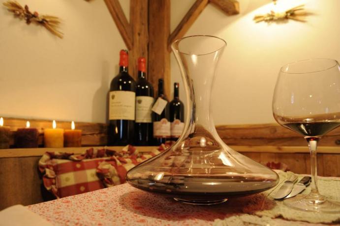 Selezione ottimi vini hotel3stelle per vacanze Lavarone