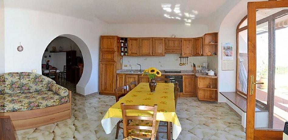 Appartamento casa vacanze a Barano d'Ischia con cucina