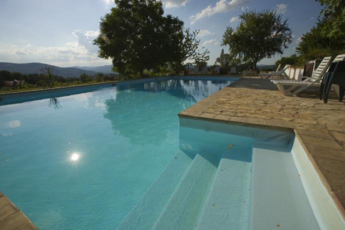 Agriturismo con Piscina Panoramica vicino Gubbio Umbria