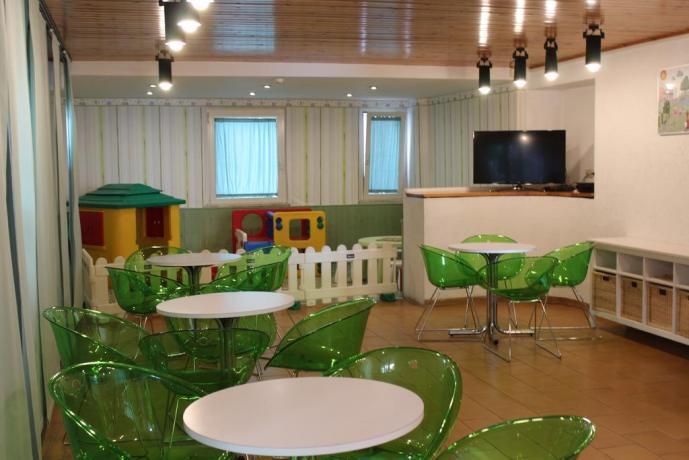 Sala giochi per bambini in Hotel a Cattolica