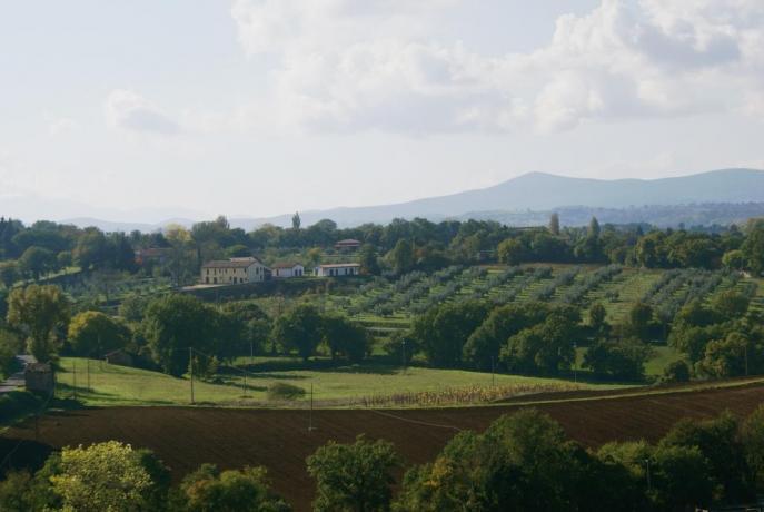 Agriturismo Terni con vista panoramica