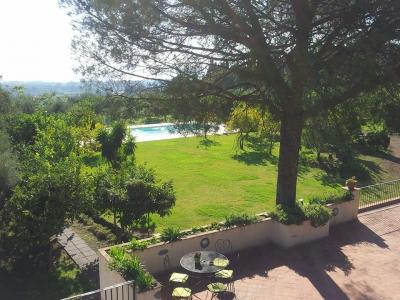 Giardino e piscina privata