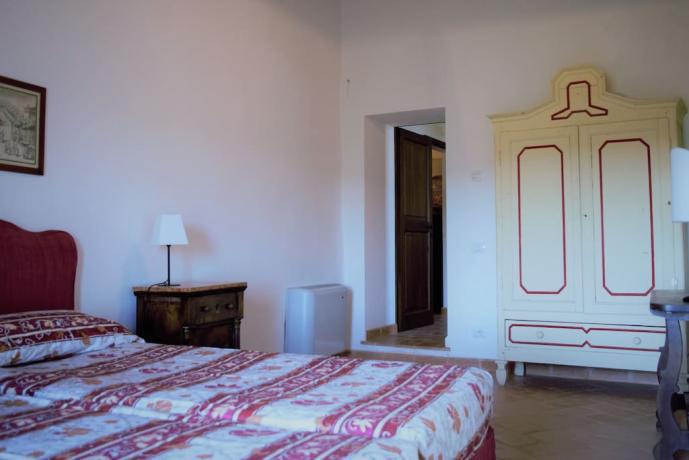 Dependance camera matrimoniale borgo medievale Gualdo Cattaneo