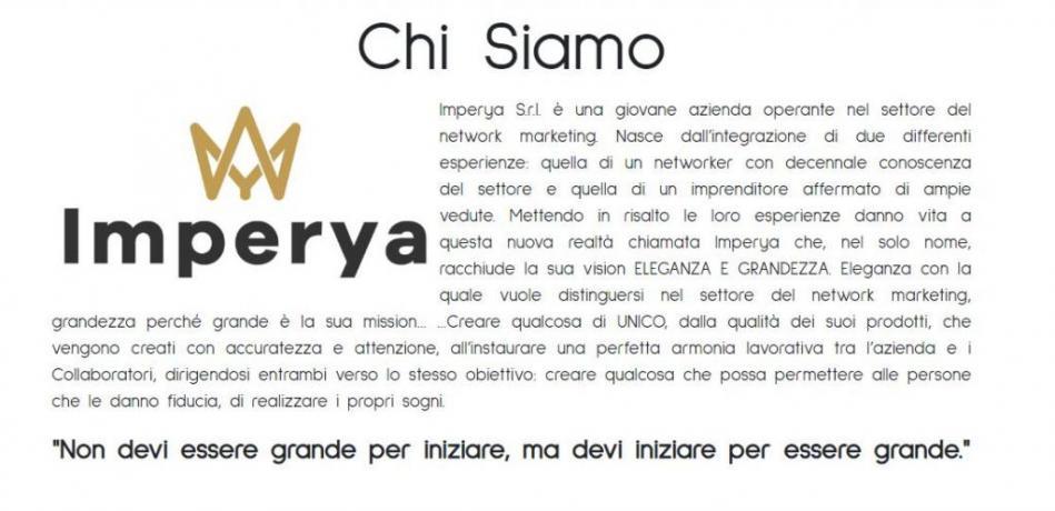 Imperya che cosa è? Start-Up Italia Network-Marketing