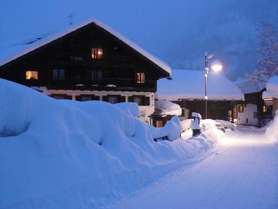 Warm hotels and cottages near the slopes