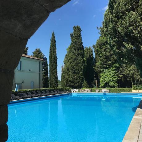 Relax in villa con piscina collina Città-di-Castello