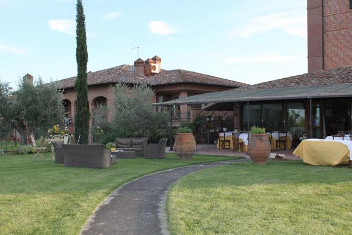 Hotel Locanda sul Lago, ampio giardino e ristorante
