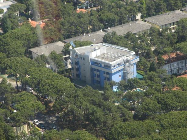 Hotel nella verde pineta di Lido del Sole