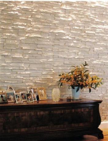 Pietre ricostruite per bioedilizia prodotti per - Pietre decorative per interni ...