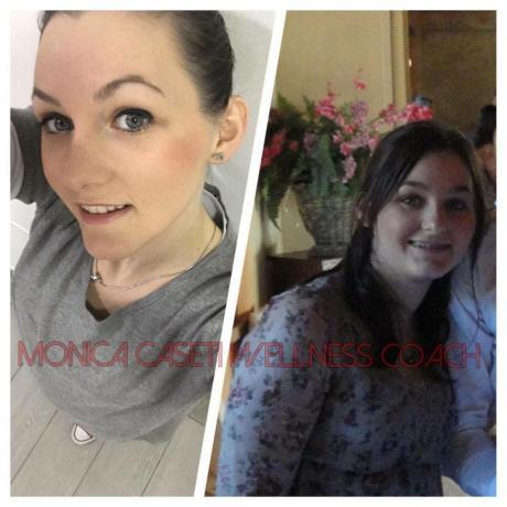 prima e dopo la dieta