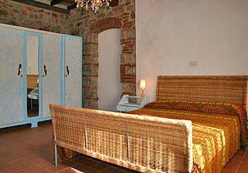 Camere confortevoli in stile rustico
