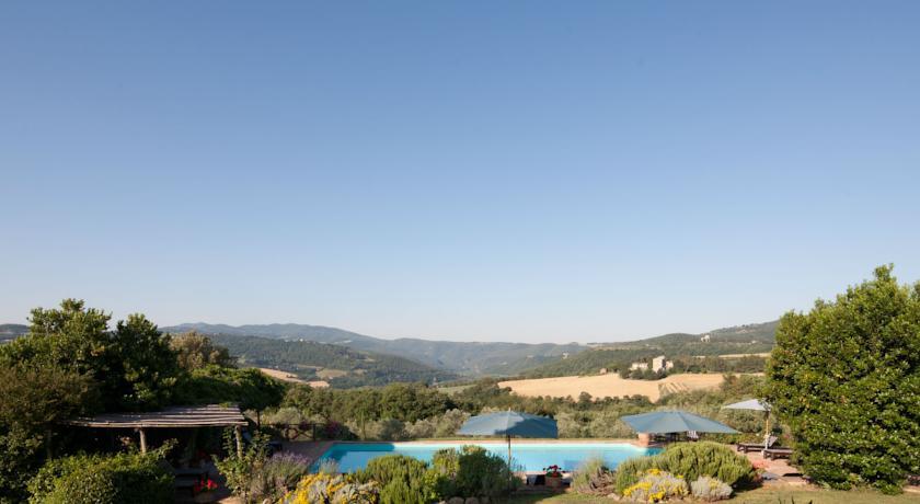 Relais con Vista Panoramica Campagna Umbra Todi