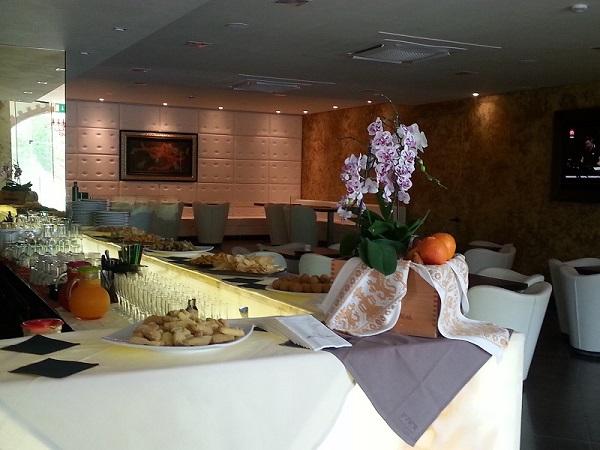 Buffet al ristorante in hotel a Perugia