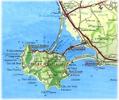 Map of the territory, hotel and B&B for your stay