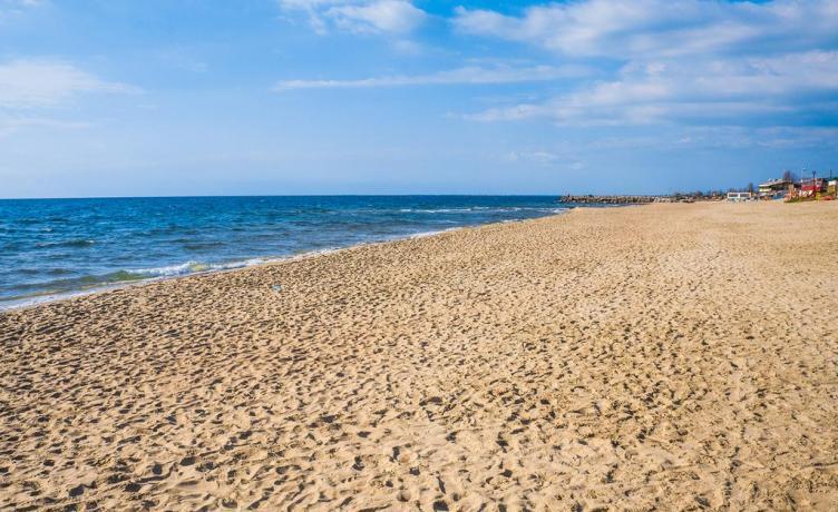 spiaggia libera Bandiera Blu a Sabaudia