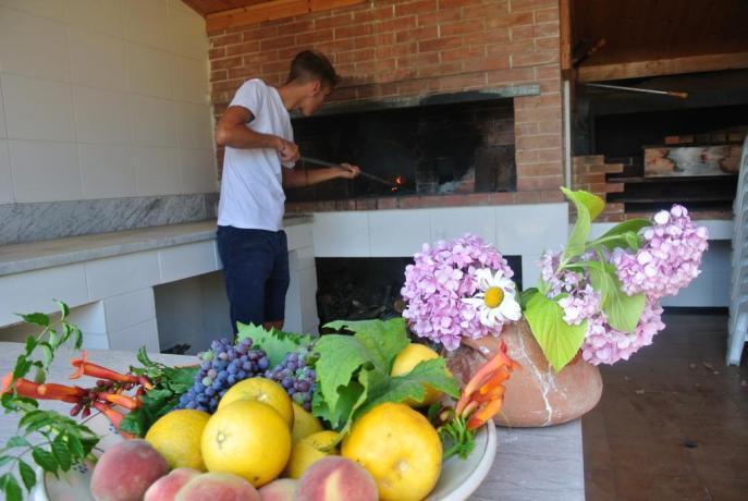Agriturismo con Forno a Legna -Palinuro