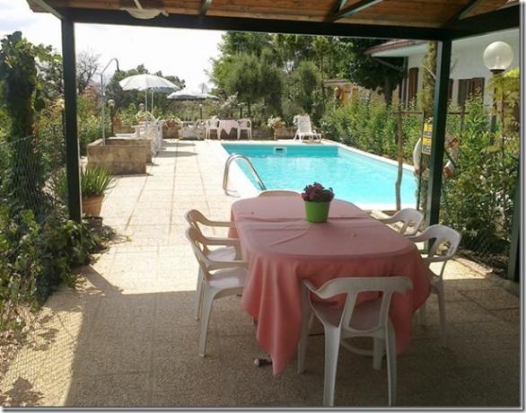 Residenza Podere casa vacanze piscina giardino arredato Magione