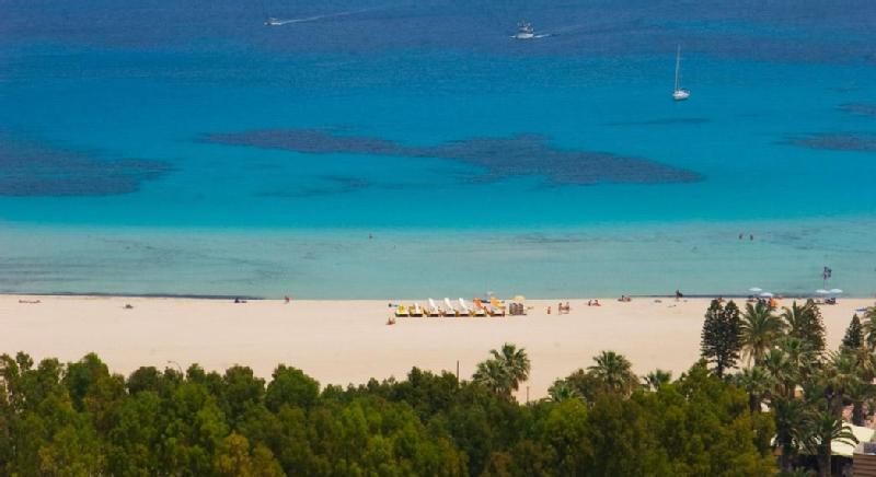 Spiaggia privata hotel a san vito lo capo
