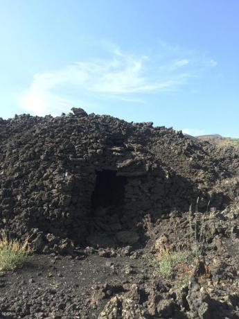 Sassi caratteristici dell'Etna