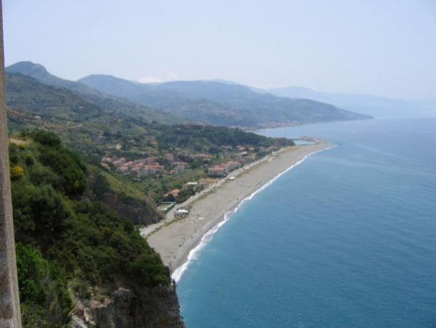 Spiaggia a Campora San Giovanni