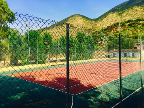 campo di tennis/calcetto