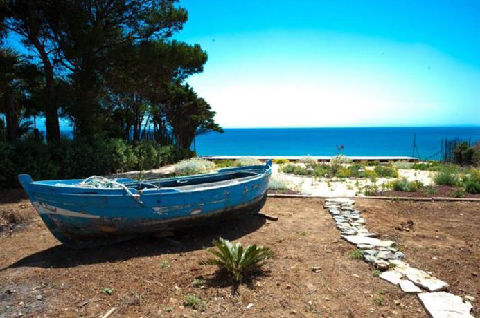 Villa con Spiaggia privata a Selinunte