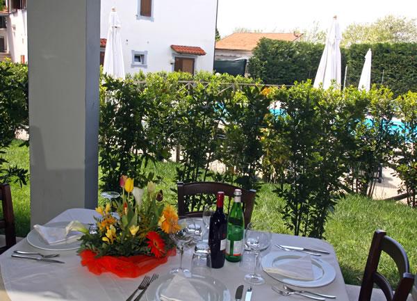 Pasti all'aperto in Toscana