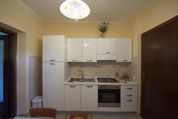 Cucina appartamento casa vacanze a Vasanello