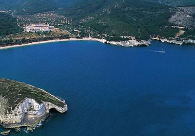 The Vieste bay