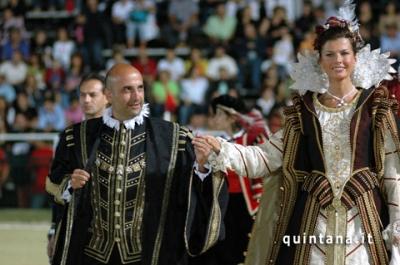 Federica Moro sempre presente alla Quintana di Fol