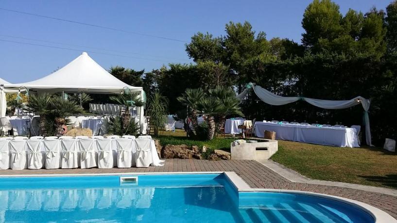 Eventi a bordo piscina agriturismo Trapani