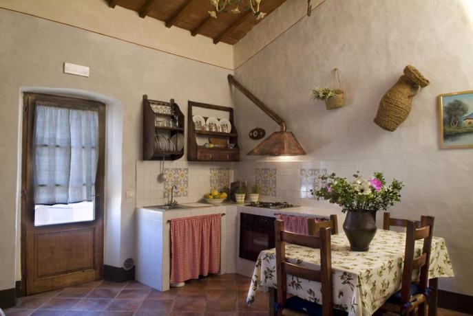 appartamento loggia salone con cucina