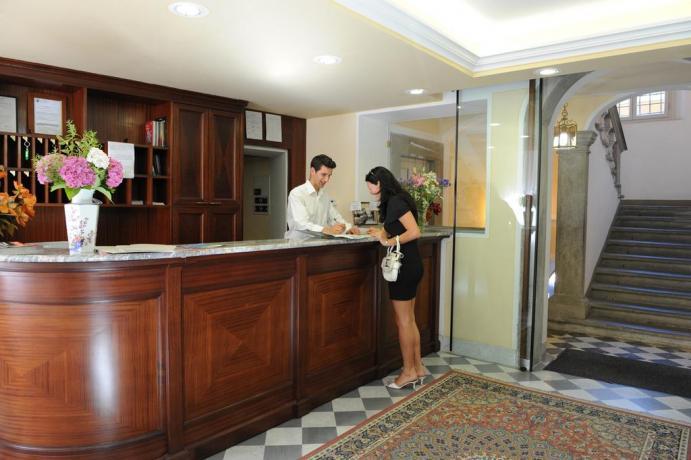 Sala Ricevimento Hotel con Servizio in camera