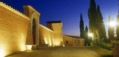 Esterno del Castello illuminato