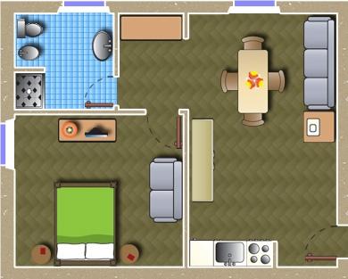 Planimetria Appartamento Verde Inglese
