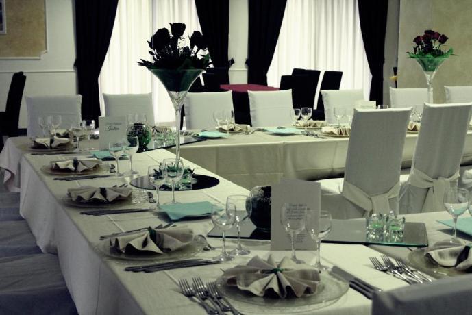 Il  ristorante interno adatto ad ogni esigenza